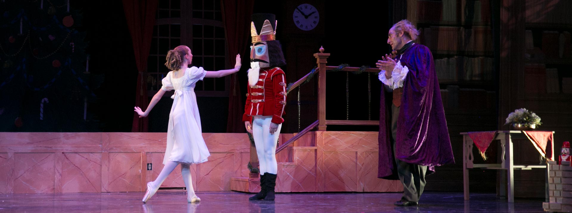 Clara, The Nutcracker and Uncle - About GCB