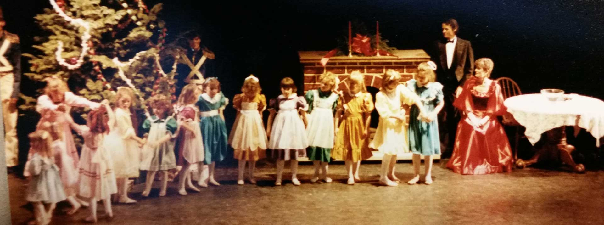The History of the Garden City Ballet - photo from a long performace ago