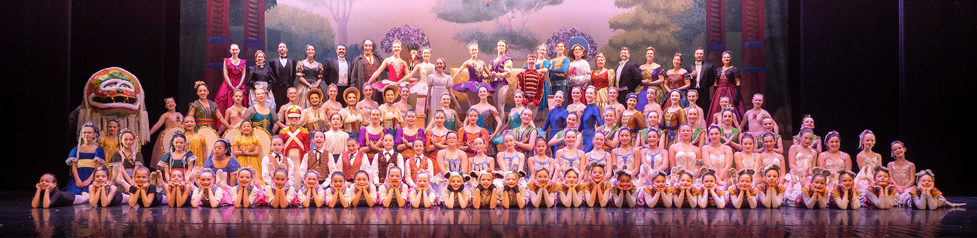 The Nutcracker - All Cast image - Garden City Ballet