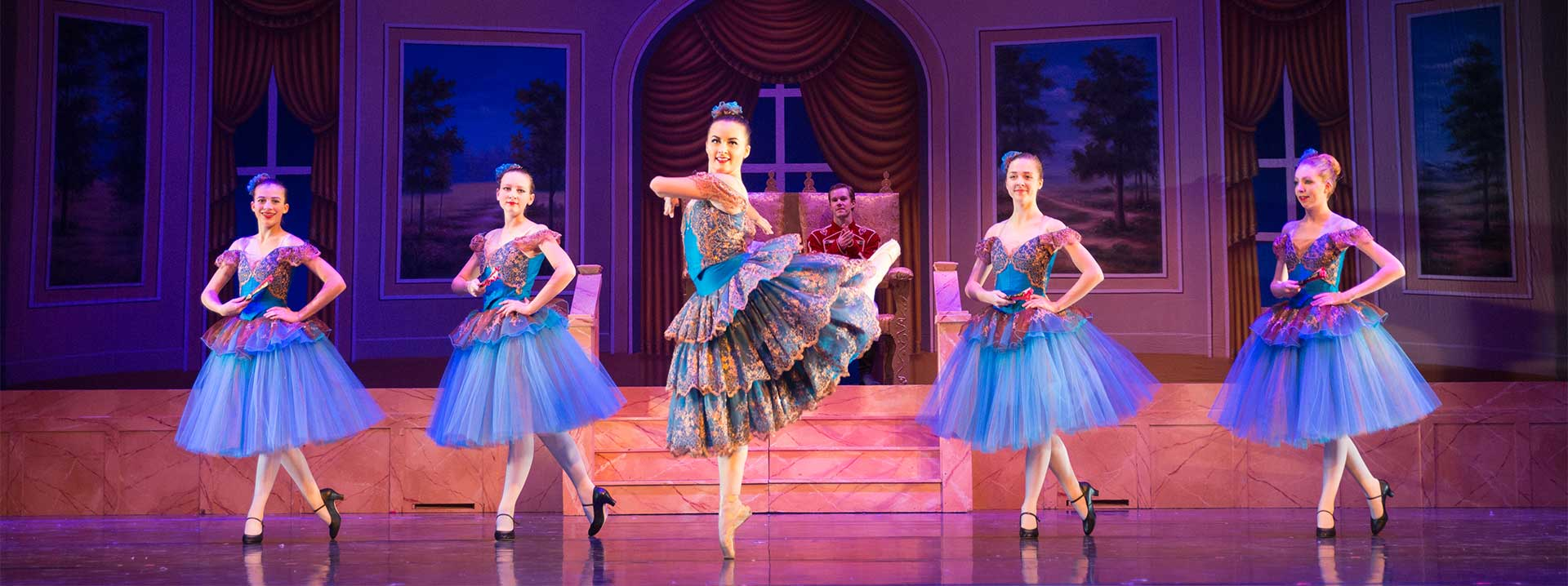 The Nutcracker Garden City Ballet FAQs - dancers on stage