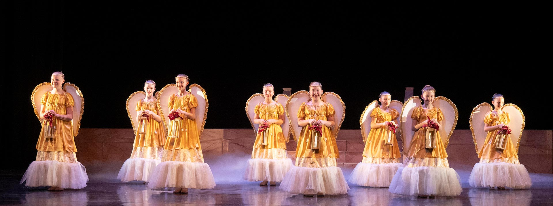 Angel scene from The Nutcracker